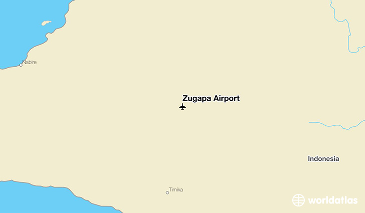 Zugapa Airport location on a map