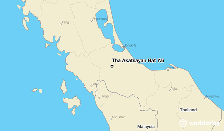 Tha Akatsayan Hat Yai location on a map