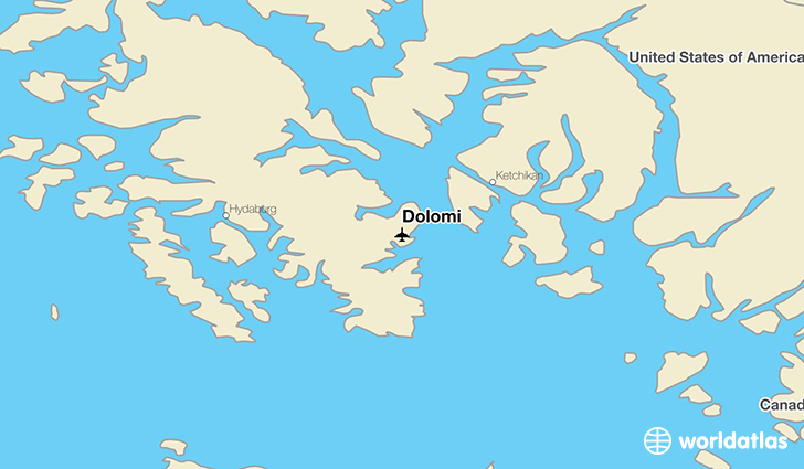 Dolomi location on a map
