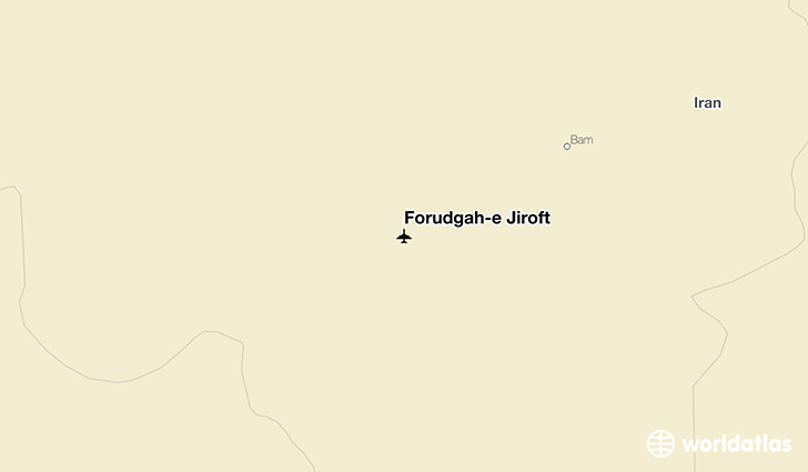 Forūdgāh-e Jīroft location on a map