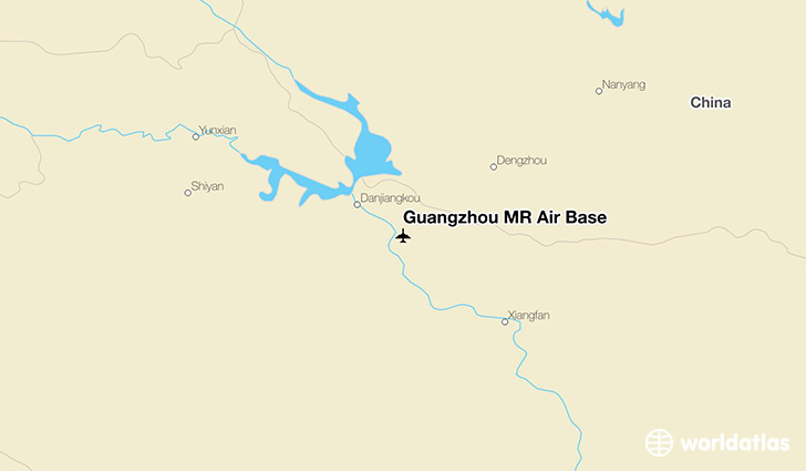 Guangzhou MR Air Base location on a map