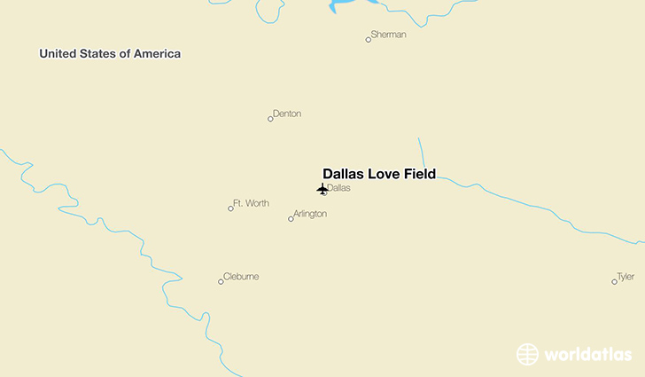 Dallas Love Field (DAL) Airport - WorldAtlas