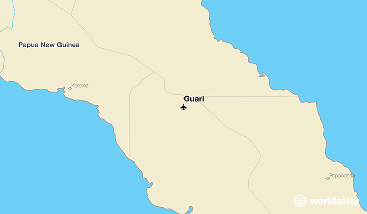 Guari location on a map