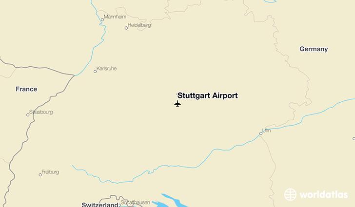 Stuttgart Airport STR WorldAtlas
