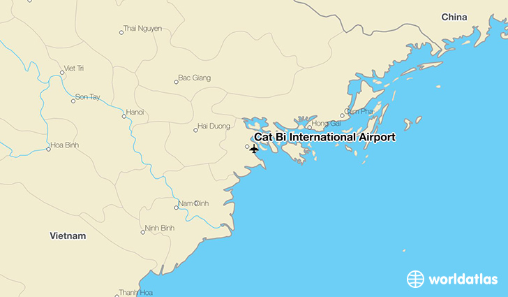 Cat Bi International Airport location on a map