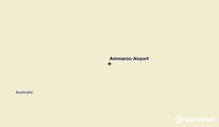 Ammaroo Airport location on a map