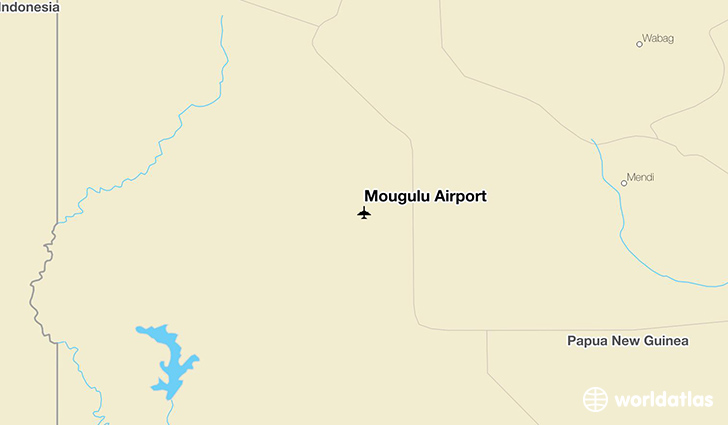 Mougulu Airport location on a map