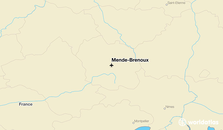 Mende-Brenoux location on a map