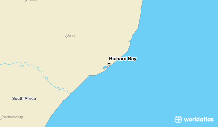 Richard Bay location on a map