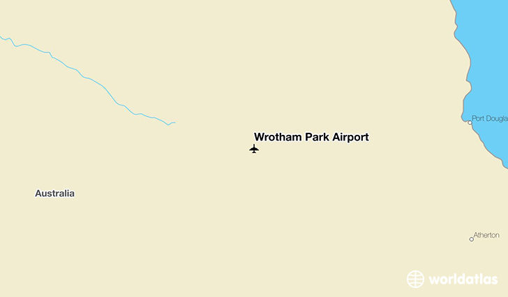 Wrotham Park Airport location on a map