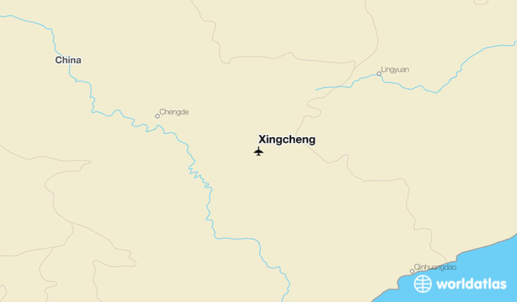 Xingcheng location on a map