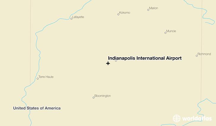 Indianapolis International Airport IND WorldAtlas