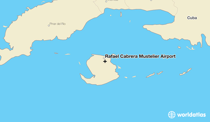 Rafael Cabrera Mustelier Airport location on a map