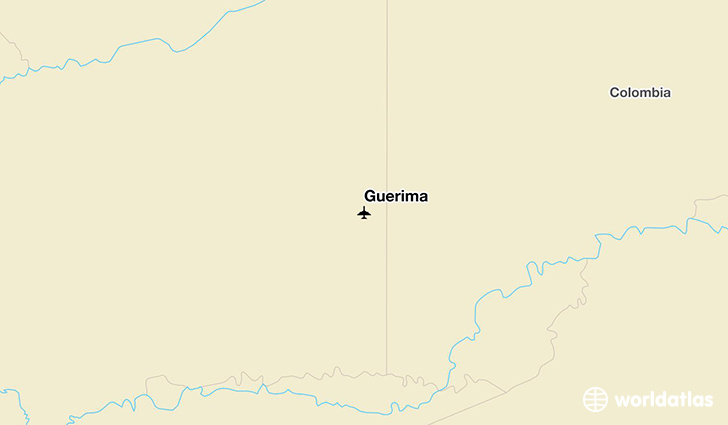Guerima location on a map