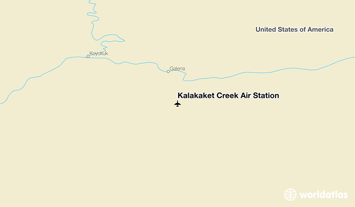 Kalakaket Creek Air Station location on a map