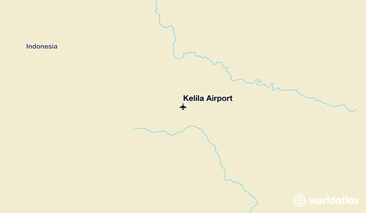 Kelila Airport location on a map