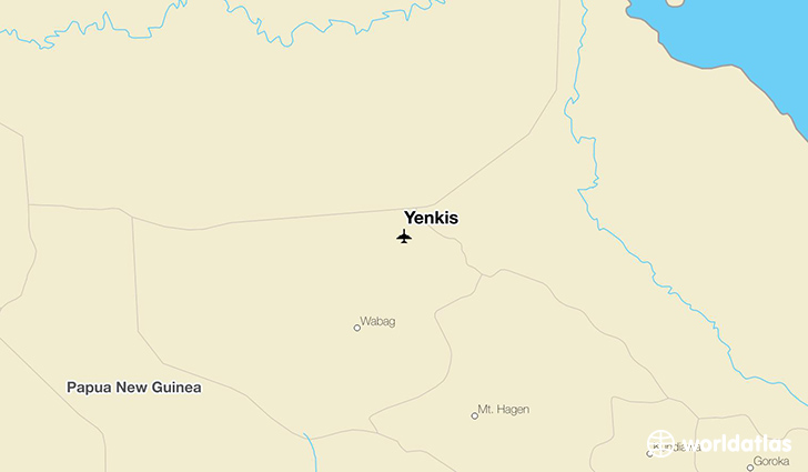 Yenkis location on a map