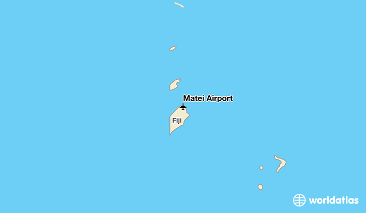 Matei Airport location on a map