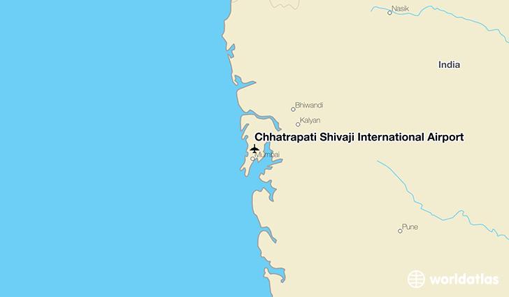 Chhatrapati Shivaji International Airport (BOM) - WorldAtlas on map of oman airports, map of south america airports, map of india airports, map of western europe airports, map of aruba airports, map of indonesia airports, map of kazakhstan airports, map of myanmar airports, map of kenya airports, map of iran airports, map of north america airports, map of bolivia airports, map of the dominican republic airports, map of zimbabwe airports, map of u.s. airports, map of swaziland airports, map of taiwan airports, map of sri lanka airports, map of haiti airports, map of north korea airports,