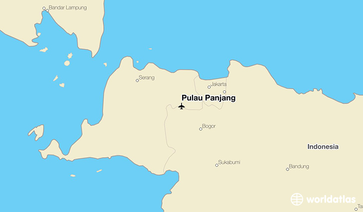 Pulau Panjang location on a map