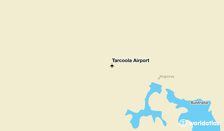 Tarcoola Airport location on a map