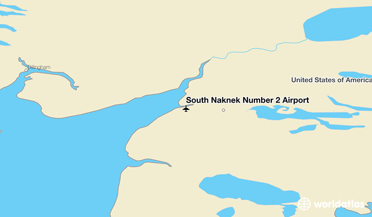 South Naknek Number 2 Airport location on a map