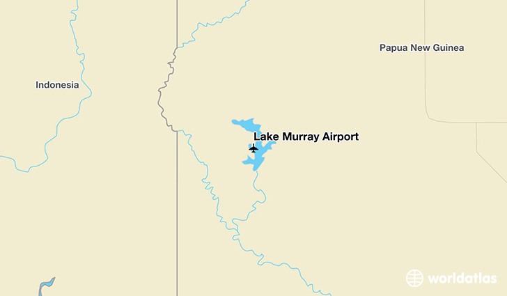Lake Murray Airport location on a map