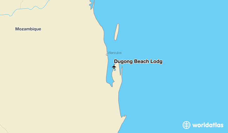 Dugong Beach Lodg location on a map