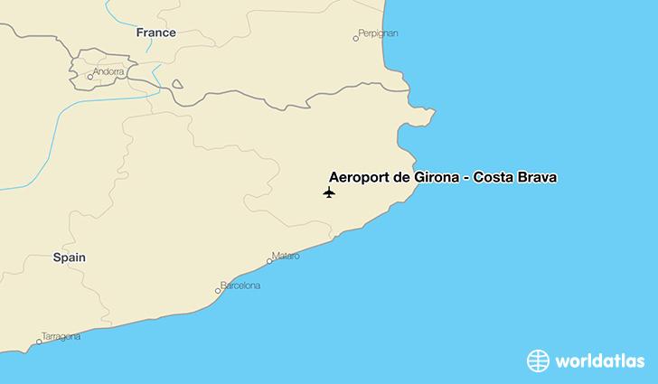 Aeroport de Girona Costa Brava GRO Airport WorldAtlas