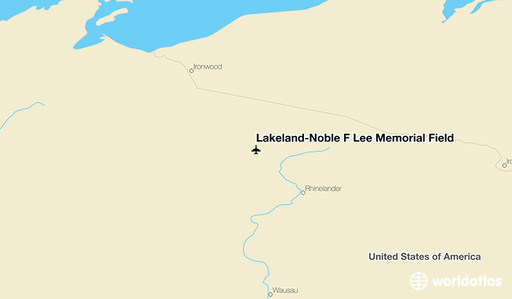 Lakeland-Noble F Lee Memorial Field location on a map