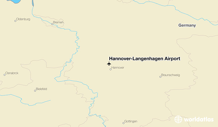 HannoverLangenhagen Airport HAJ WorldAtlas