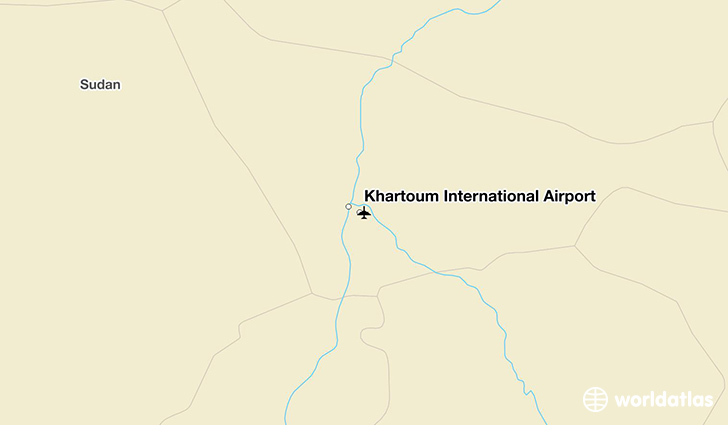 Khartoum International Airport KRT WorldAtlas