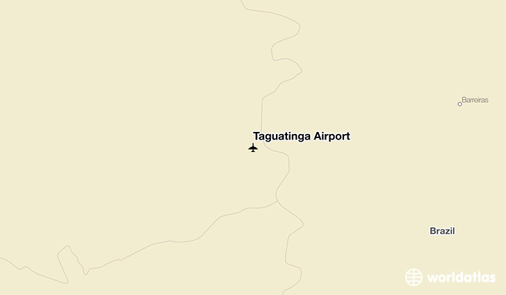Taguatinga Airport location on a map