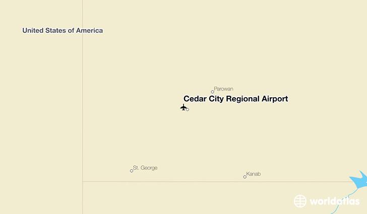 Cedar City Regional Airport (CDC) - WorldAtlas on