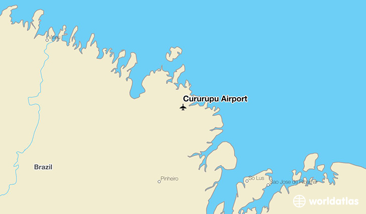Cururupu Airport location on a map