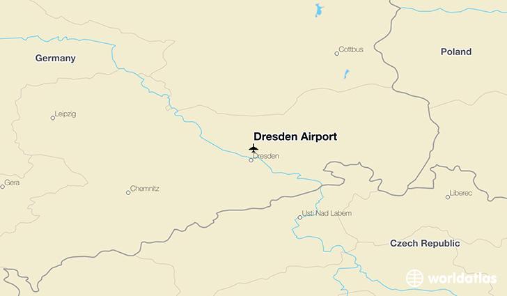 Dresden Airport DRS WorldAtlas
