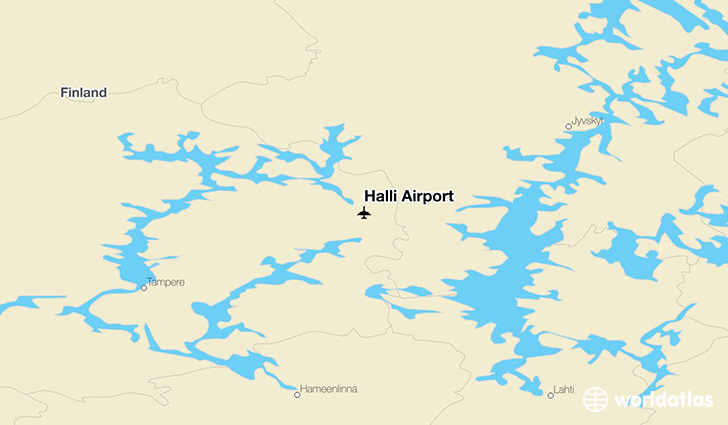 Halli Airport location on a map