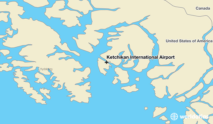 Ketchikan International Airport (KTN) - WorldAtlas on ketchican alaska, map of wasilla alaska, map of seward alaska, juneau alaska, map of naknek alaska, map of denali alaska, outline map of alaska, map of homer alaska, road map of alaska, map of vancouver bc, sitka alaska, map of alaska and canada, map of alaska inside passage, juno alaska, map of kotzebue alaska, large print map of alaska, map of hoonah alaska, map of southeast alaska, skagway alaska, map of craig alaska,