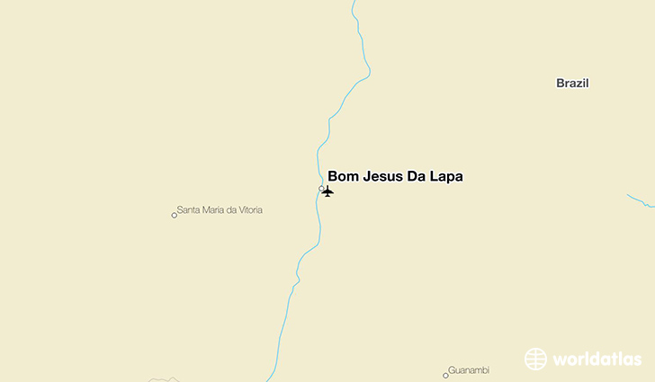 Bom Jesus Da Lapa location on a map