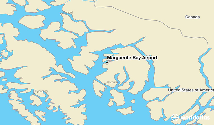 Marguerite Bay Airport location on a map