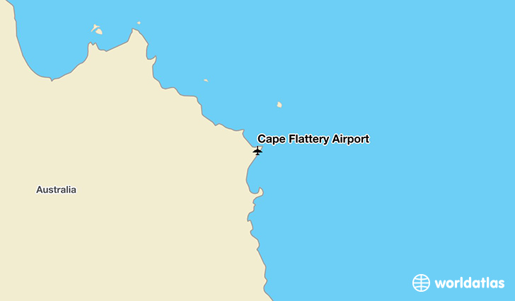 Cape Flattery Airport location on a map