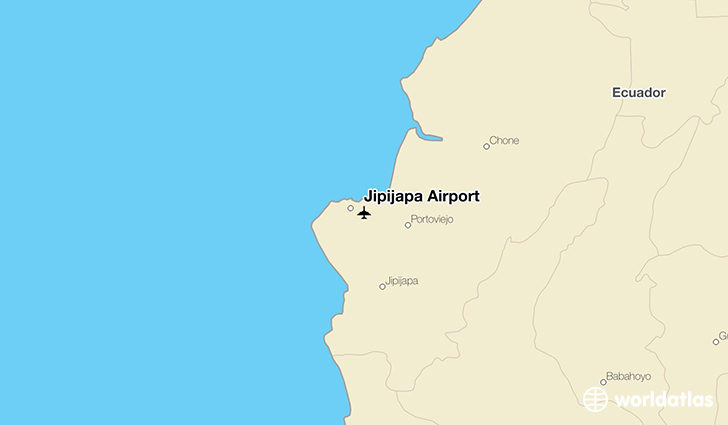 Jipijapa Airport location on a map