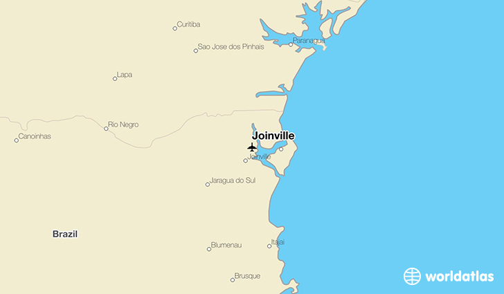 Joinville JOI Airport WorldAtlas