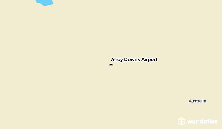 Alroy Downs Airport location on a map