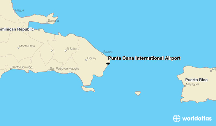 Punta Cana International Airport (PUJ) - WorldAtlas