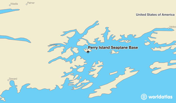 Perry Island Seaplane Base location on a map