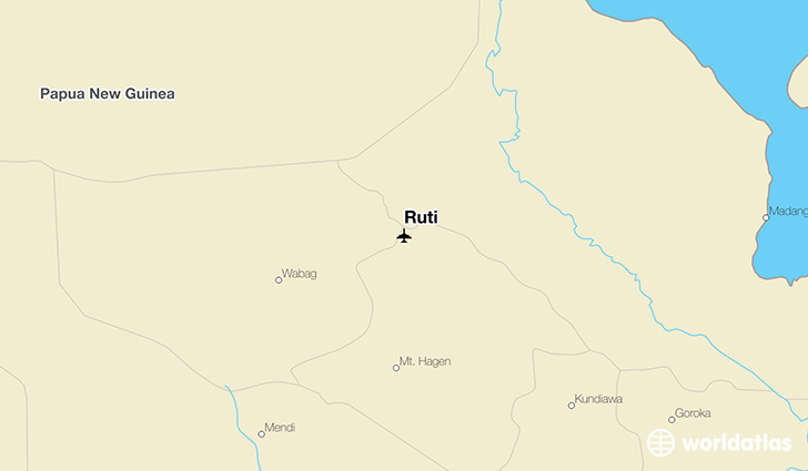 Ruti location on a map