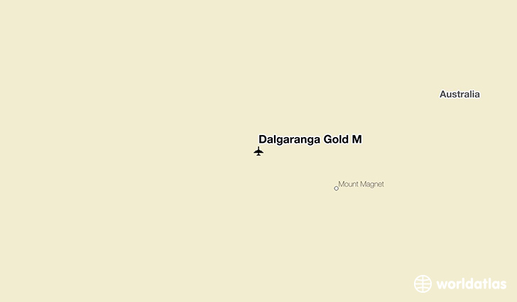 Dalgaranga Gold M location on a map