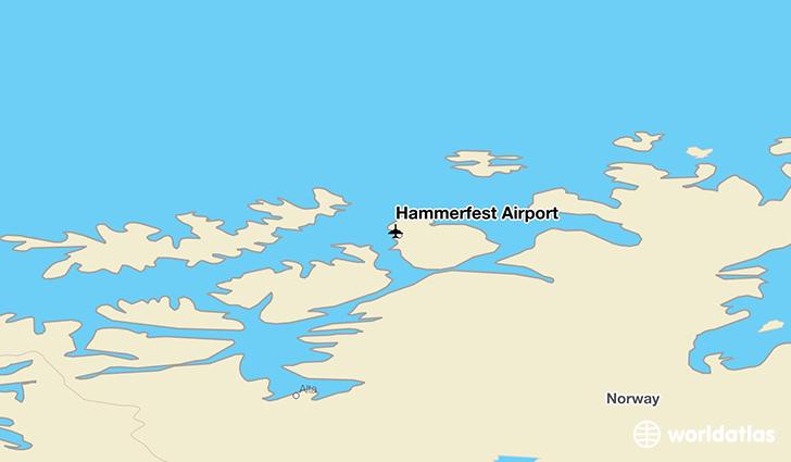 Hammerfest Airport HFT WorldAtlas