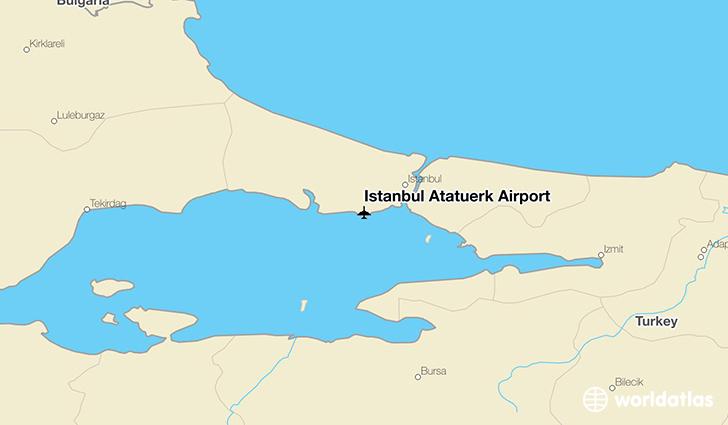 Istanbul Atatrk Airport IST WorldAtlas